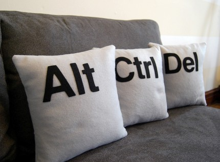 ctrlaltdel cushions
