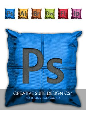 Cushion Set CS4 icons