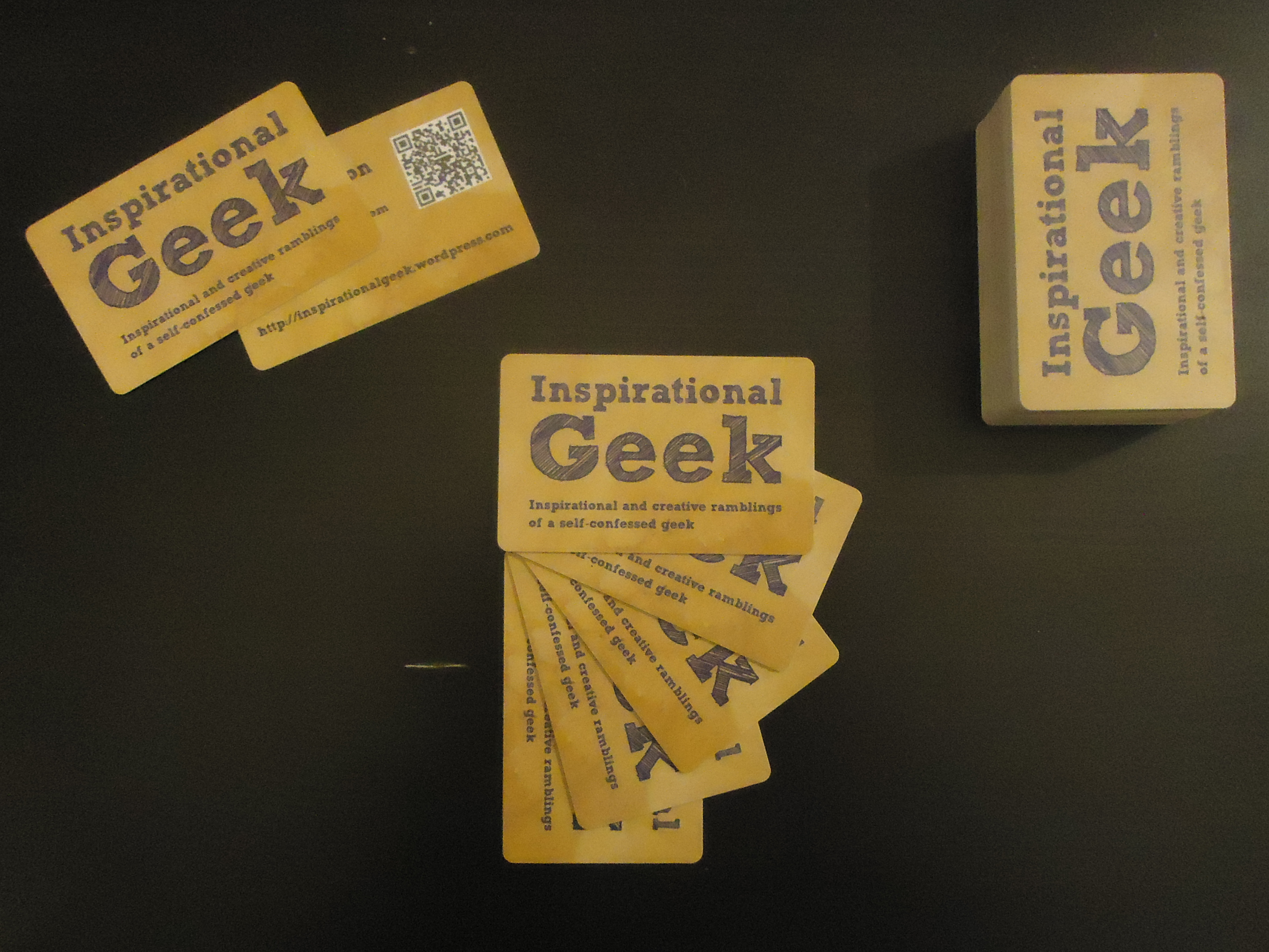 business cards | Inspirational Geek