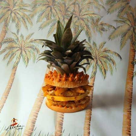 Burger - Hawaiian Burger