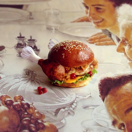 Burger - The Burgiving