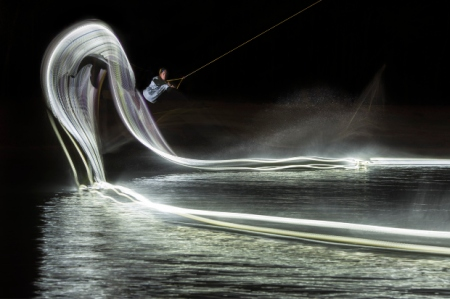 Wakeboarding and Lights 1