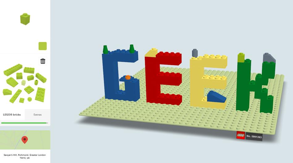 Lego Inspirational Geek