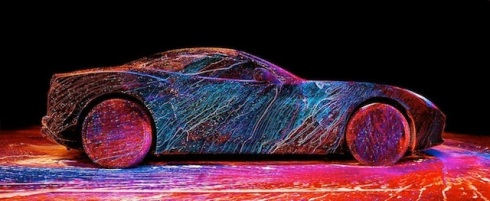 Glowing Ferrari1