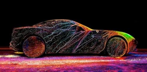Glowing Ferrari2