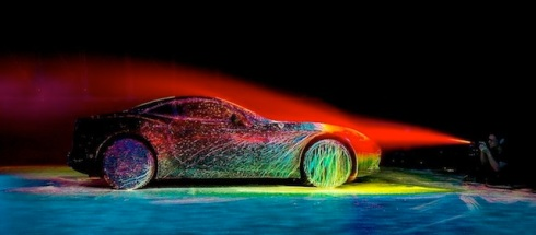 Glowing Ferrari3