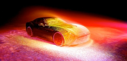 Glowing Ferrari5