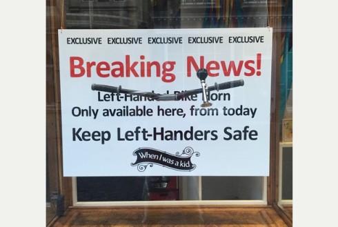 left handed horn