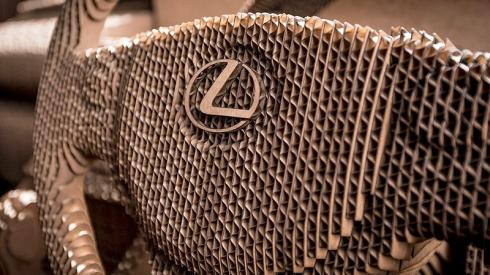 carboard lexus4