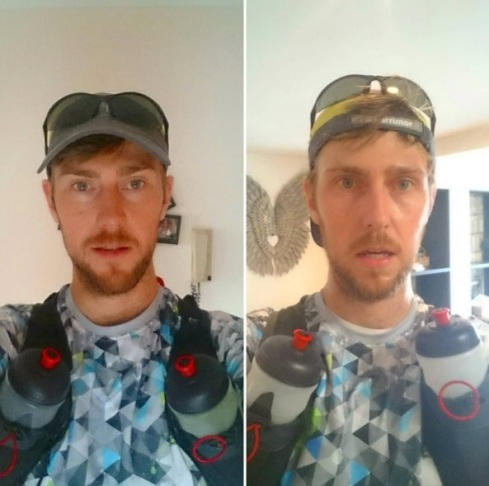 50km before and after